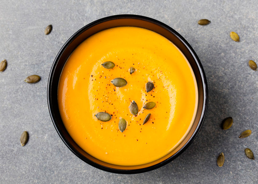 Pumpkin cream soup recipe