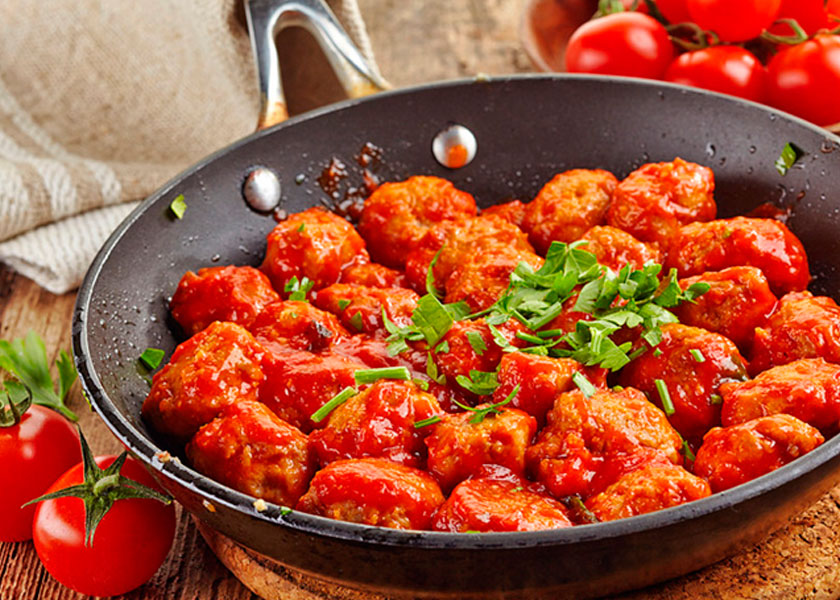 Meatballs with sauce recipe
