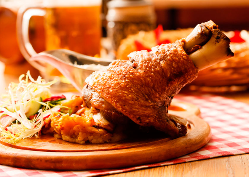 Pork shank, baked in the oven recipe