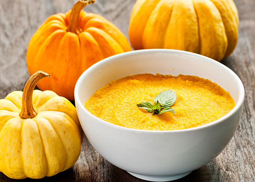 Pumpkin porridge with corn recipe
